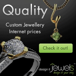 custom made diamond pieces